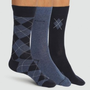1-Pack(3u) calcetines de rombos DIM. ( 2DIM AD00AA9 )